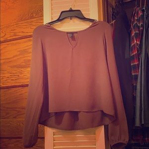 cute purple forever 21 top